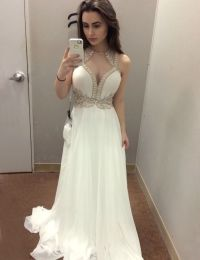 1000+ ideas about White Prom Dresses on Pinterest | Long ...