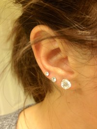 Triple ear piercing! soo tempting.....
