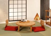 Traditional Japanese Dining Table | Japanese Bamboo Dining ...
