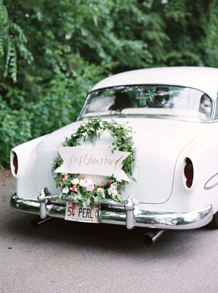 25 best ideas about Wedding cars on Pinterest  Vintage