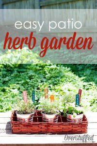 17 Best ideas about Patio Herb Gardens on Pinterest ...