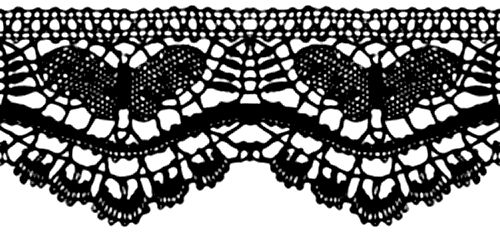 Black Lace Roll Transparent Google Search Free