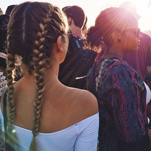 25 Best Ideas About Two French Braids On Pinterest Braids For