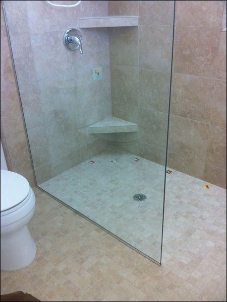 1000+ ideas about Shower No Doors on Pinterest