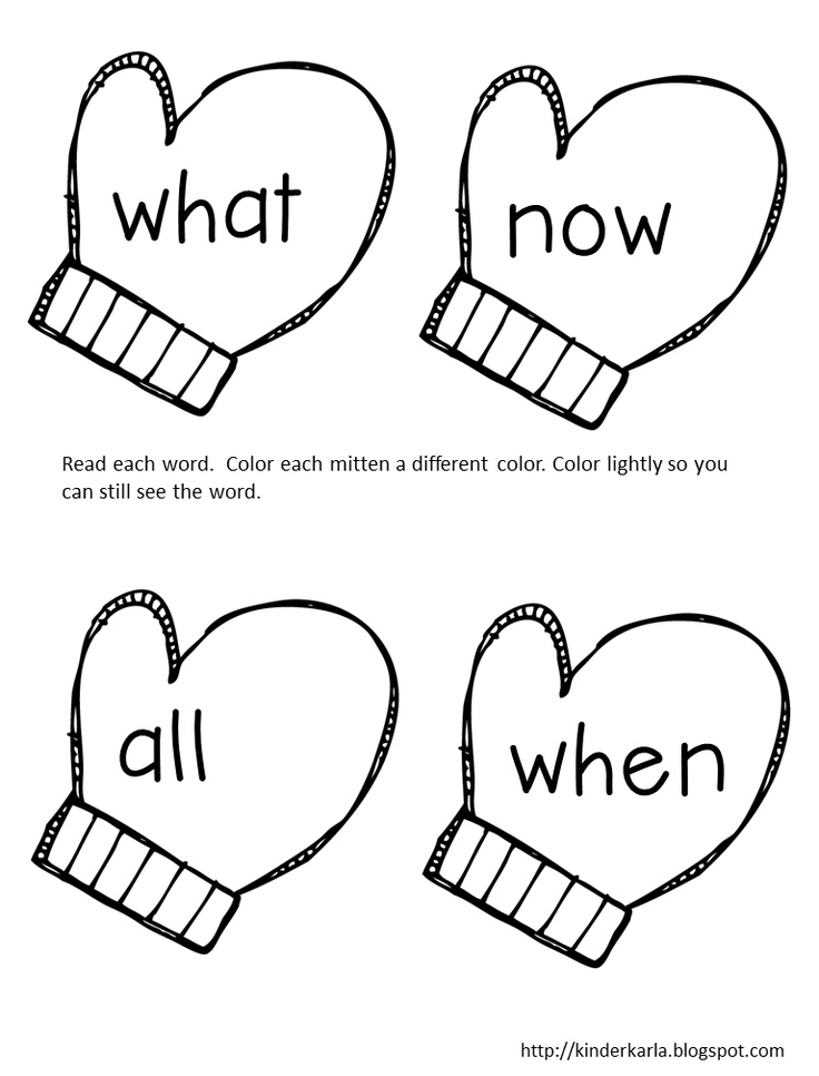 17 Best images about Phonics High Frequency Words on