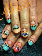 ideas mexican nails