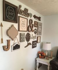17 Best ideas about Rustic Gallery Wall on Pinterest ...