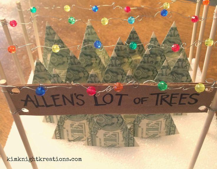 Kim Knight Kreations Money Christmas Tree Lot Tutorial  Mele Kalikimaka me ka Hauoli Makahiki