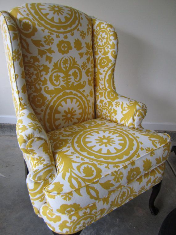 30 best images about Wing back chairsideas on Pinterest