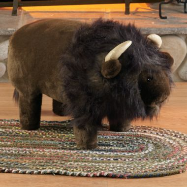 Plush Buffalo Footstool with Storage  Cabelas  Kids