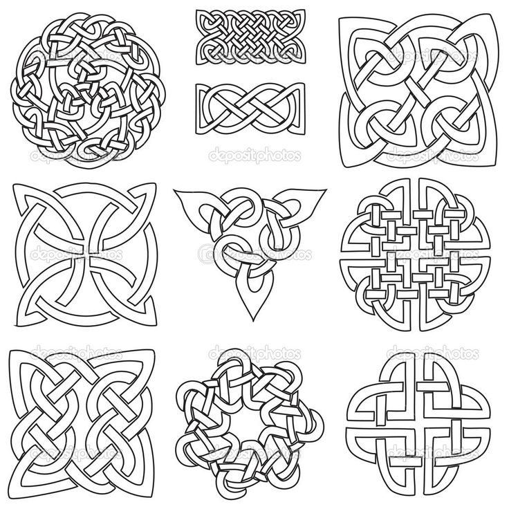 133 best images about embroidery-celtic patterns on Pinterest