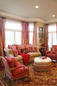 French country family room ideas