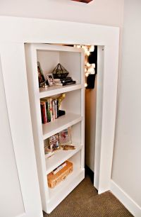 Hidden Closet Bookcase - WoodWorking Projects & Plans