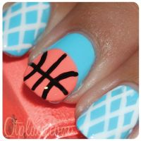25+ best ideas about Basketball nails on Pinterest ...