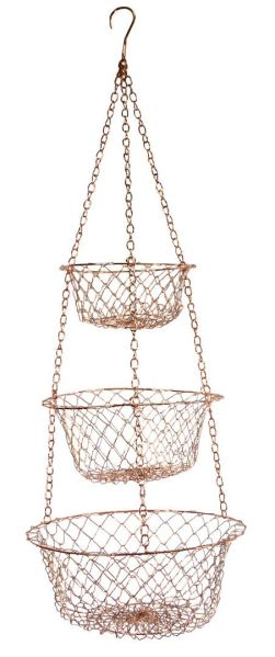 hanging kitchen basket 17 Best ideas about Hanging Fruit Baskets on Pinterest | Hanging wire basket, Kitchen space