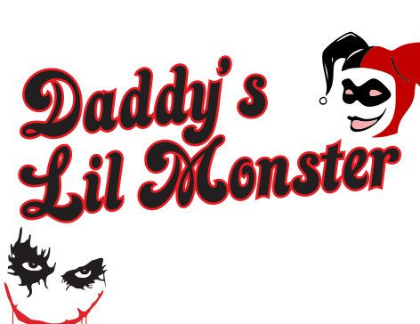 Download Daddys Lil Monster Harley Quinn SVG Download by ...