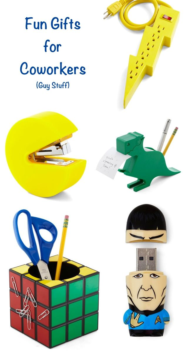 16 Fun Gifts for Coworkers Under 25  Gifts Theyll Actually WANT  Spock Geek culture and