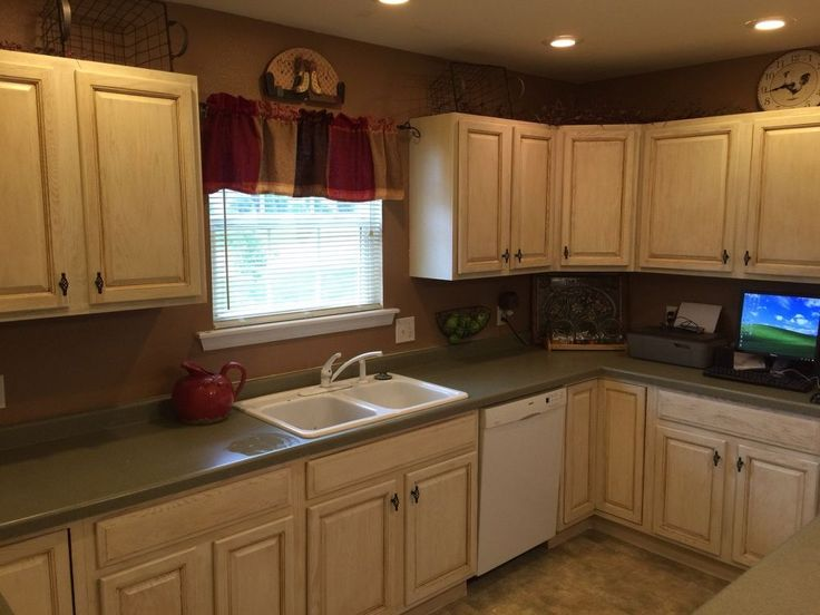 diy kitchen cabinet refacing cleaning cabinets makeover with milk paint | cabinets, ...