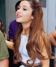 love ariana grande's hair color
