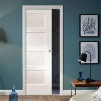 17 Best images about Single Panelled Pocket Doors on ...