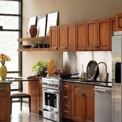 Kitchen Cabinets For Cheap Remodelling Saxony Maple Whiskey Black Glaze By Thomasville Cabinetry ...