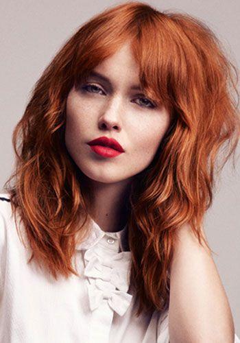 The 25 Best Medium Red Hair Ideas On Pinterest Red Long Bob
