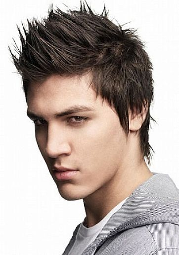 Different Hairstyles for Men with Thin Hair Spikey