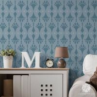 17 Best images about Modern Wall Stencils on Pinterest
