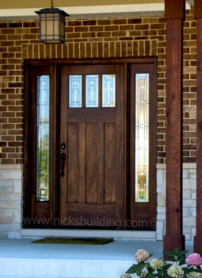 25+ best ideas about Craftsman Style Front Doors on