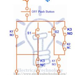 Three Phase Star Delta Starter Wiring Diagram John Deere 317 Skid Steer Motor Connection Star/delta Without Timer Control Diagrams   Electrical Technology ...