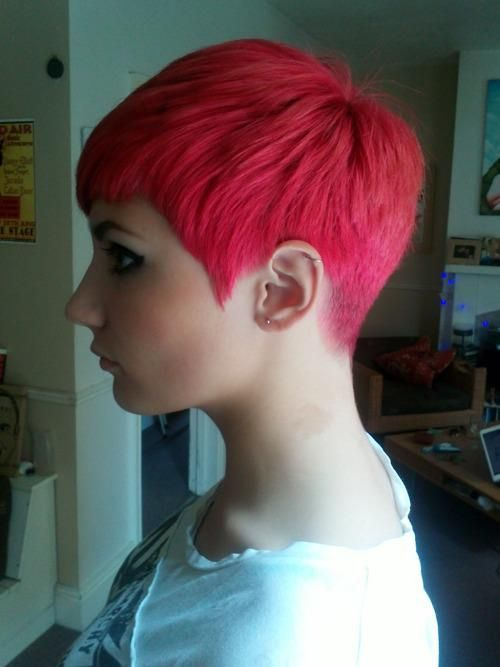 Rear View of Pixie Cut  go back Clean tapered back  Hair  Pinterest  Cleanses Short pixie