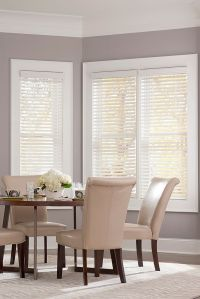 """2"""" Economy Faux Wood Blind   Colors, Snow and Wood blinds"""
