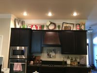 25+ best ideas about Above Cabinet Decor on Pinterest ...