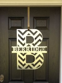 17 Best ideas about Front Door Letters on Pinterest ...