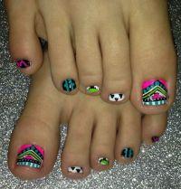 Aztec Nail Art Nail Art Nail Art | FUNKY TOES NAIL ART ...