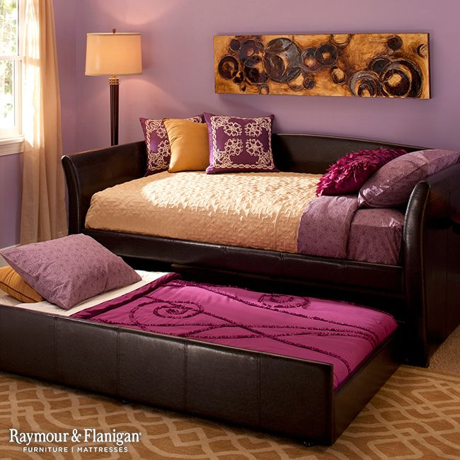 Yellow and purple hues pair perfectly together for a complementary color scheme in any room