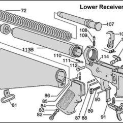 M16 Exploded Diagram Ems Stinger Ecu Wiring Ar-15 Parts | List Steve's Stuff Pinterest An, Pain D'epices ...