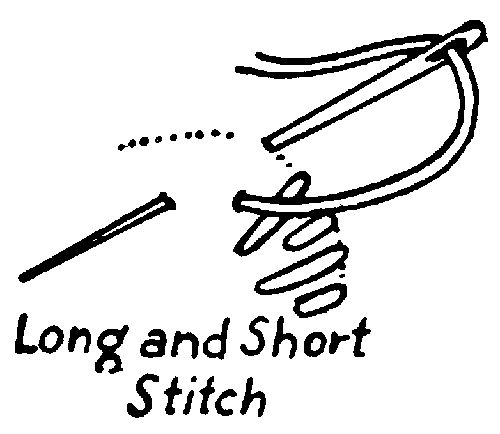 17 Best ideas about Long And Short Stitch on Pinterest
