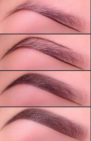 Eyebrows tutorial step by step