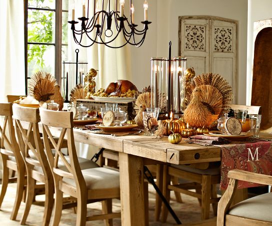 Rustic Thanksgiving Party Ideas