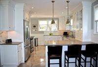 High end kitchen design with Restoration Hardware Benson