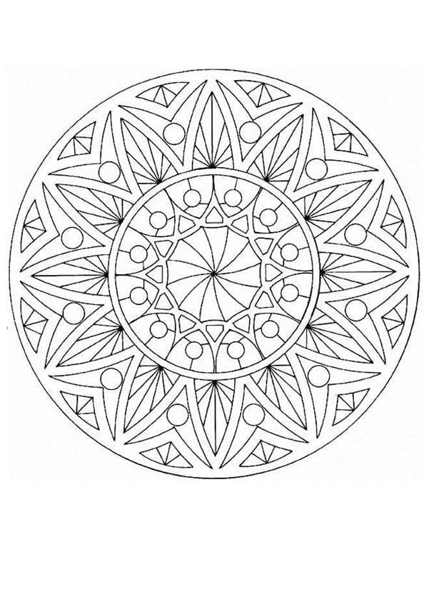 17 Best images about Art: Zentangle Coloring on Pinterest