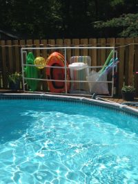 Best 25+ Pool float storage ideas on Pinterest | Pool toy ...