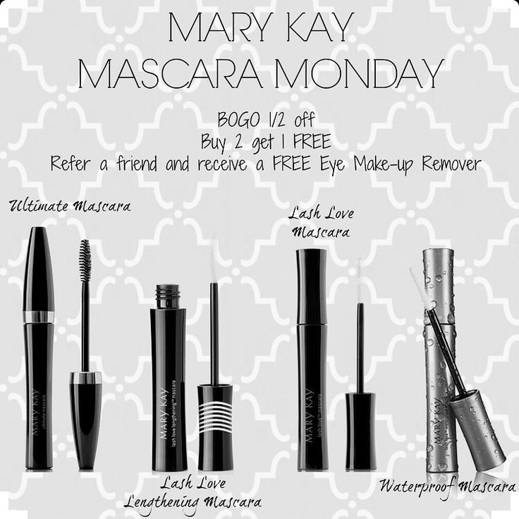 No need to dread Monday's anymore! Mascara Monday is