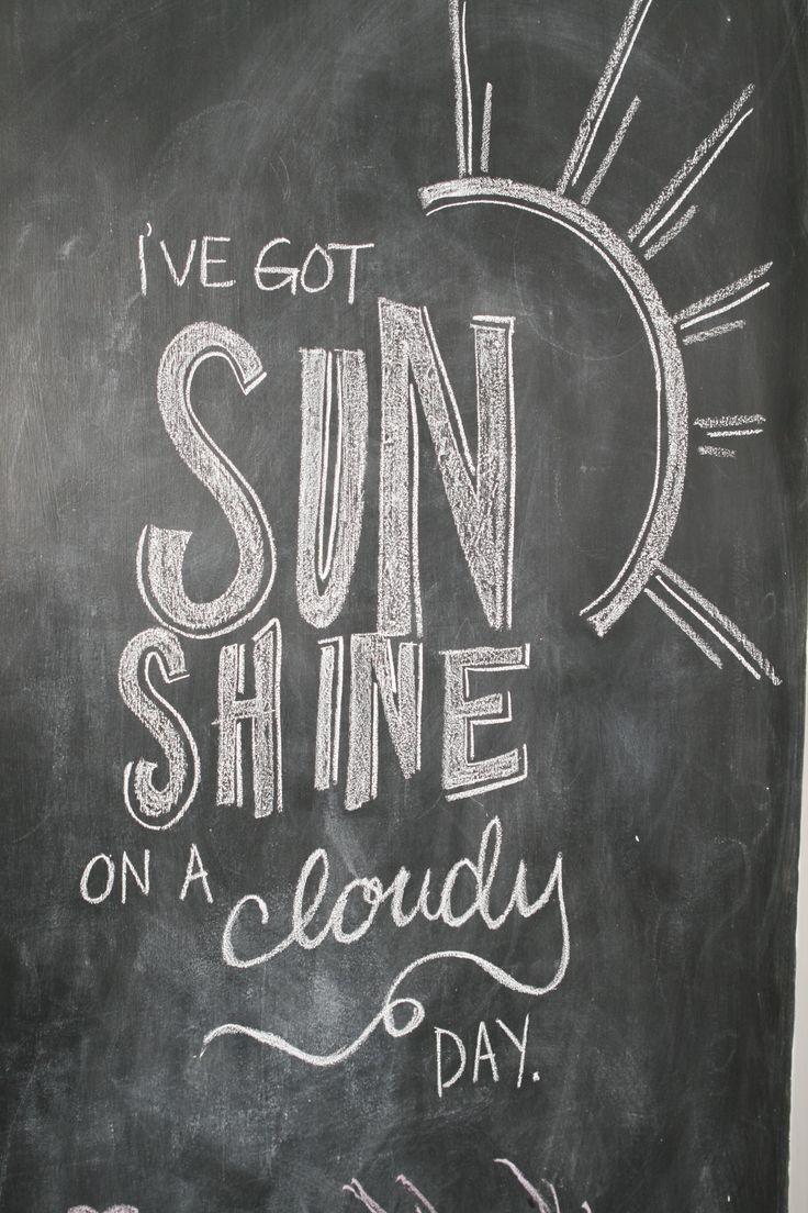 25 best ideas about Chalkboard Sayings on Pinterest  Chalk board Chalkboard lettering and