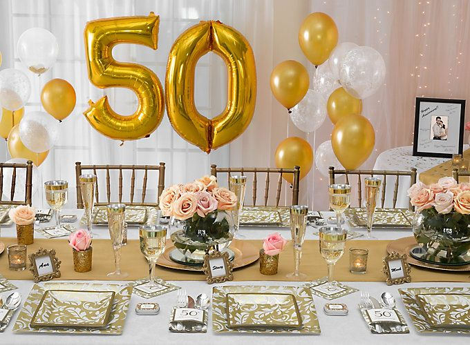25+ Best Ideas About 50th Anniversary Parties On Pinterest