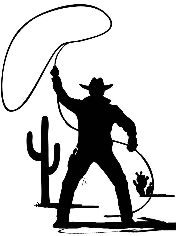 97 best images about western silhouettes on Pinterest