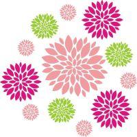 25+ best ideas about Flower Wall Decals on Pinterest ...