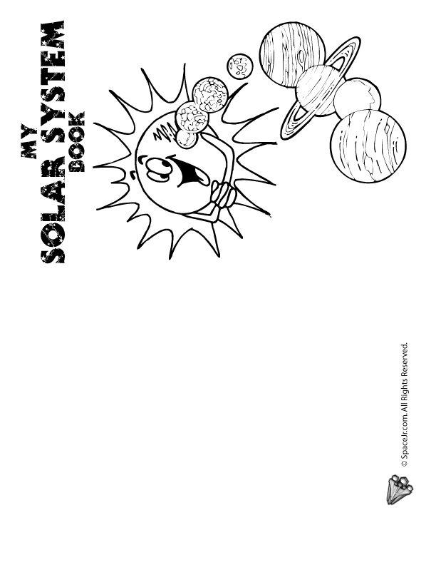 Solar System for Kids solar-system-mini-book-1