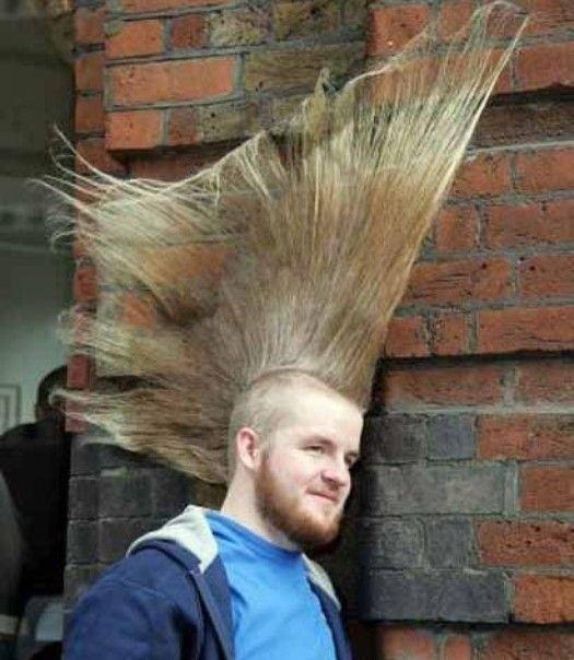 Die 30 Besten Bilder Zu Crazy Hair Auf Pinterest Frisur Ideen